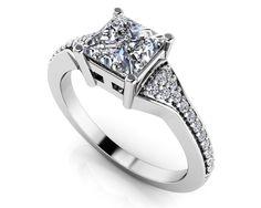 Mesmerizing Princess Engagement Ring