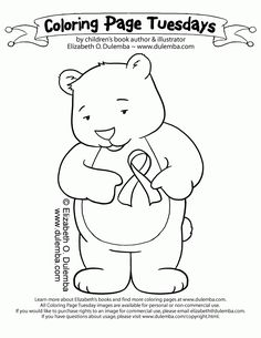 Breast Cancer Awareness Coloring Pages | #pink #breastcancer