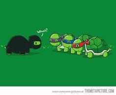 It would make a bit more sense that way :) #funny #Teenage_Mutant_Ninja_Turtles