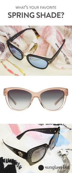 0a069b63edc Embrace all the shades of you with just a switch of the sunnies. From Tory  · Spring SunglassesTrending SunglassesSunglasses SaleVersace ...