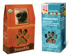 "Similar ""paw print"" shaped windows on different brands of pet food. Randy LudacerBeach Packaging Design"