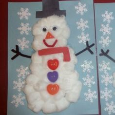24 Snowman Crafts for Kids to Make | hands on : as we grow