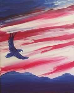 american flag art American Flag Painting Luxury Learn to Paint American Eagle In Flight Easy Canvas Painting, Simple Acrylic Paintings, Acrylic Painting Tutorials, Painting & Drawing, Canvas Art, Acrylic Painting Animals, Canvas Paintings, Painting Abstract, American Flag Painting