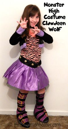 clawdeen wolf monster high costume - Clawdeen Wolf Halloween Costume