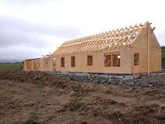 Rowan croft. Isle of Skye. New build, timber frame.   Self build