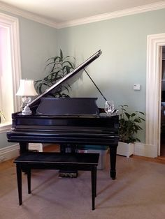 baby grand piano room | Baby Grand piano also in the Living Room