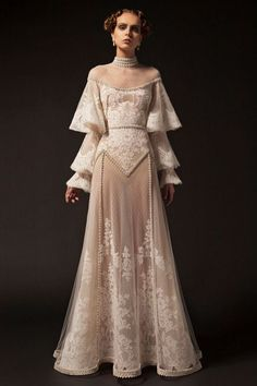 party Outfit Krikor Jabotian 2019 New Evening Dresses High Neck Lace Applique Long Sleeve Beading Formal P. Krikor Jabotian 2019 New Evening Dresses High Neck Lace Applique Long Sleeve Beading Formal Party Dress Vintage Pageant Evening Gowns After Prom Dresses, Evening Dresses, Wedding Dresses, Vintage Evening Gowns, Long Sleeve Evening Gowns, Long Sleeve Gown, Sleeve Dresses, Prom Gowns, Fantasy Dress