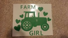 Farm Girl Decal