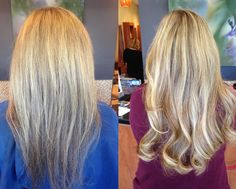 Before & After Great Length Extensions