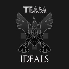 Check out this awesome 'Team+Ideals' design on @TeePublic!