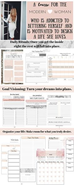 Level 10 lifestyle Printable Course Life by TheModernMonroe