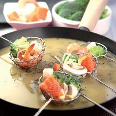 Discover recipes, home ideas, style inspiration and other ideas to try. Fondue Recipes, Cooking Recipes, Beef Noodle Soup, Dips, Asian Recipes, Ethnic Recipes, Exotic Food, Asian Cooking, World Recipes