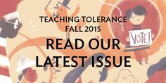 Teaching Thanksgiving in a Socially Responsible Way (via Teaching Tolerance) (10 November 2015) Offers tips and resources for bringing a more thoughtful and just exploration to Thanksgiving, especially from a Native perspective.