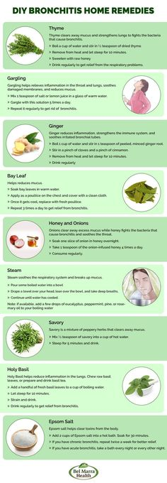 Here are 10 simple DIY home remedies to try to help with Bronchitis and related health problems.