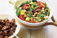 Chipotle chillies in adobo sauce add a real depth of flavour to grilled meat and salad dressings.