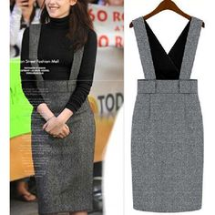 Cheap grey card, Buy Quality grey jacket directly from China grey car Suppliers: 2015 Plus size M L XL XXL High Waist women long Puff skirts sale american apparel n Curvy Fashion, Fashion Looks, Womens Fashion, Plus Size Winter Dresses, Modest Dresses, Dresses For Work, Overalls Plus Size, Plus Size Womens Clothing, Clothes For Women