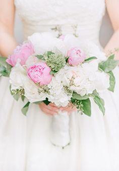 Southern wedding - peony bouquet