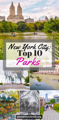 New York City: The Top 10 Parks - Global Storybook Usa Travel Guide, Travel Usa, Travel Tips, Hawaii Travel, Travel Guides, Travel Destinations, New York City Vacation, New York City Travel, Usa Places To Visit