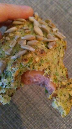 Broccolipølsehorn og boller...