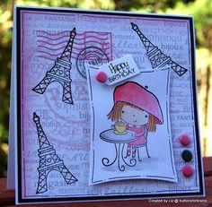 mimi in paris by Liz buttonsforbrains, via Flickr