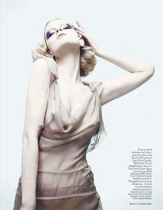 tender is the night   Guinevere Van Seenus   Willy Vanderperre #photography   Vogue UK April 2012