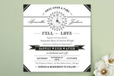 Ever After Wedding Invitations by cadence paige design at minted.com