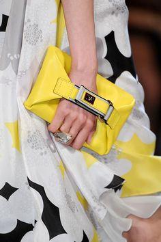Diane Von Furstenburg S12...what a great idea for a clutch!