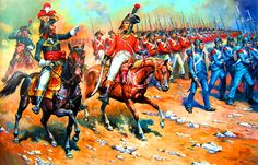 General Reynier leading the French army at Heliopolis