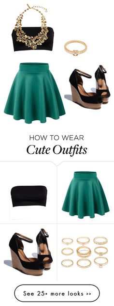 """""""Cute Day Outfit"""" by kayleecat124 on Polyvore"""