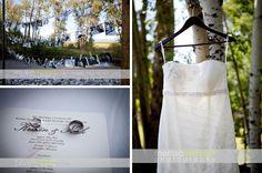 Wedding dress and ring details, Rockin TJ Ranch, Bozeman, Montana. www.merissalambert.com #weddingdress #rings