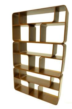 Faroe Bookshelf Key Features: Made from plywood with a walnut or ash veneer Has a number of compartments sized symmetrically Contemporary design and timeless colour making it ideal for both traditional and modern décor Assembled using three matching components stacked upon one another