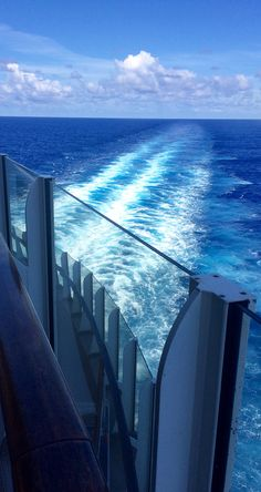 Sailing through Caribbean waters on Oasis of the Seas.