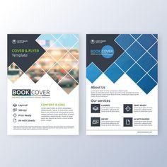 Шаблон бизнес-брошюра Бесплатные векторы