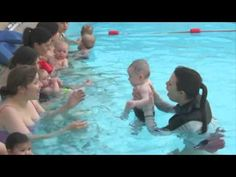 London Baby Swim Level 1 lesson with first baby submersion Baby Swimming Lessons, Swim Lessons, First Baby, Mom And Baby, Baby Health, Happy Baby, Lesson Plans, Swimming Pools, Infant