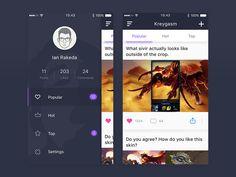 Kreygasm App by Ian Rakeda