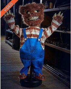 2.5 Ft Creepy Roaming Bear Animatronics - Decorations - Spirithalloween.com