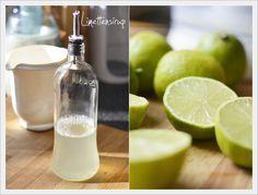 von olls a bissl: Limettensirup Homemade