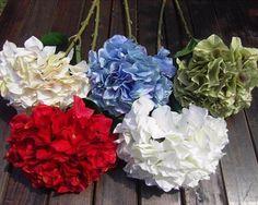 GNW FL-HY69-24CM Wedding decoration Artificial flower High quality silk hydrangea for Sale