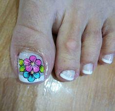 New Nail Art Design, Nail Art Designs, Cute Pedicures, Summer Toe Nails, Finger, Healthy Nails, Toe Nail Art, Manicure, Nail Polish