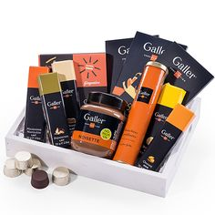 galler chocolate pleasures gift tray