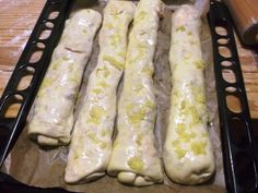 Plnené pizza štangle s cesnakovým dressingom (fotorecept) - obrázok 7