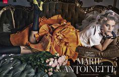 Marie Antoinette - Solveig Mork Hansen by Kelly Klein for Vanity Fair Italy February 2015