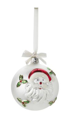 Santa Christmas ornament by Lisbeth Dahl Copenhagen Autumn/Winter 13. #LisbethDahlCph #Magical #Christmas #santa #Ornament