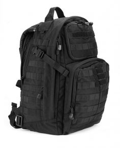 I can carry tons of stuff in this pack   5.11 RUSH 24 BACKPACK BLACK