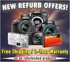 Great deals on Nikon refurbished models! Check them out here... http://www.cameta.com/exclusive-deals.cfm