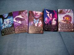 OOoooooh how I love this series.... Ink Exchange and Radiant Shadows are by far my favorites of the five.
