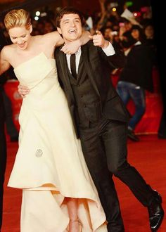 Joshifer - The Hunger Games - Jennifer Lawrence - Josh Hutcherson