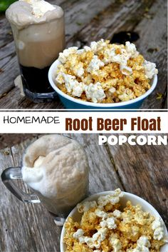This delicious popcorn snack not only tastes like the real thing, but is just in time for summer! Grab the kiddos and enjoy this delicious popcorn snack. It's perfect for your next Summer movie night or family BBQ! Popcorn Snacks, Candy Popcorn, Gourmet Popcorn, Popcorn Recipes, Beer Recipes, Snack Recipes, Popcorn Balls, Homemade Flavored Popcorn, Pop Popcorn