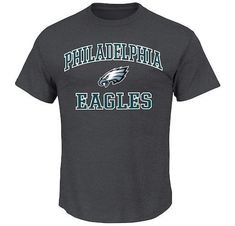aac8f80bebb Details about Philadelphia Eagles Men's Heart and Soul Crewneck Tee.  Philadelphia Eagles GearCleveland CavsMens ActivewearNfl Carolina PanthersMens  ...
