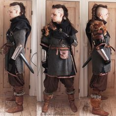 shortcuttothestars:  So ready for Krigslive: Valhal, the LARP I'm going to this weekend! I'll be gone from tomorrow till Sunday, fighting and drinking like the old Gods wanted it!EDIT: Yes, this is real chainmail and real metal bracers. This costume weights about 15kg/34lbs